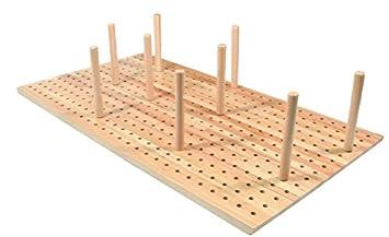 Hardware For You Ltd Beech Peg Board Drawer Insert Plate Stack 600mm