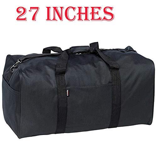(Holdall Big Black Duffel Bag 27