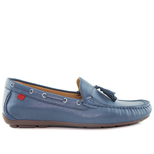 Marc Joseph New York Mens Bushwick Loafer Staalblauwe Korrelig