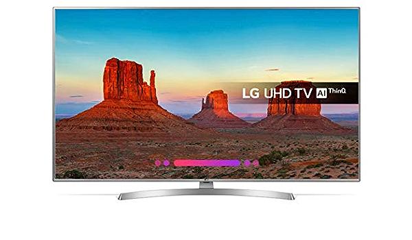 LG Ultra HD TV 4K con Inteligencia Artificial, Procesador Quad Core, 3xHDR, Sonido Virtual: X: Amazon.es: Electrónica