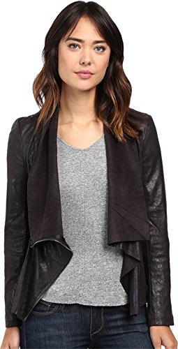 Blank NYC Women's Faux Suede Drape Jacke - Black Hot Jacket Shopping Results