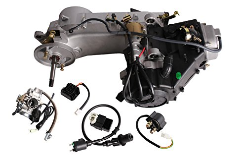 TMS Long Case 150cc Gy6 Scooter Atv Go-kart Engine Motor 150 Cvt Auto Carb Complete