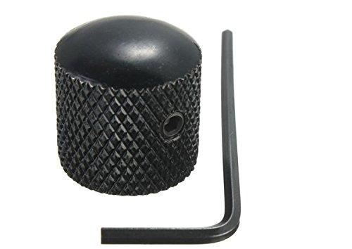 Mini Dome Knob (Metal Dome Tone Guitar Bass Control Knob For Fender Tele by Greenmarkets)