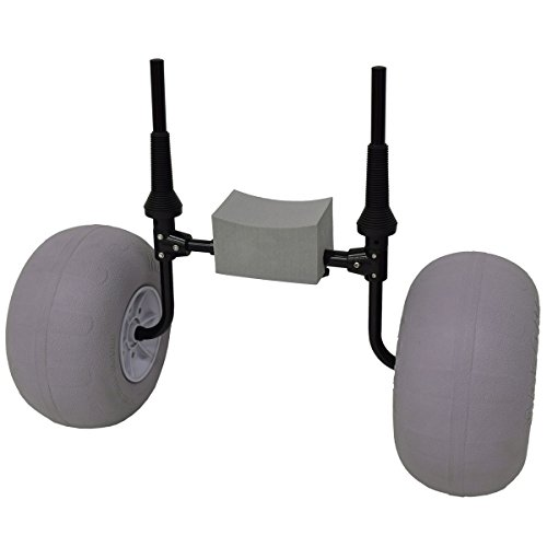 Malone Xpress Scupper with Balloon Beach Wheels Kayak Cart - MPG504-S