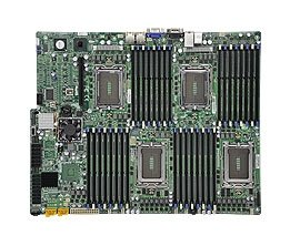Supermicro Motherboard Ethernet (Supermicro A+ H8QG6+-F AMD Motherboard Quad Opteron 6000 series 1944-pin Socket G34 up to 1TB DDR3 RAMS Dual-port GbE controller 6 SATA2 ports via SP5100 RAID 0,1,10 LSI 2008 8 ports SAS controller RAID 0,1,10 RAID 5 optional IPMI 2.0 Full Warranty)