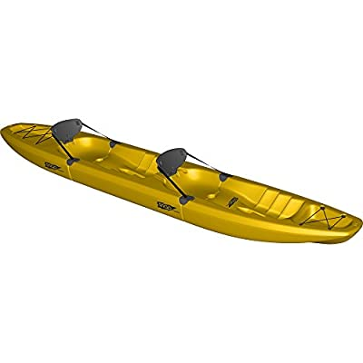 000139151303 Point 65 Snap Top Tandem Kayak, Yellow from Point 65 kayaks