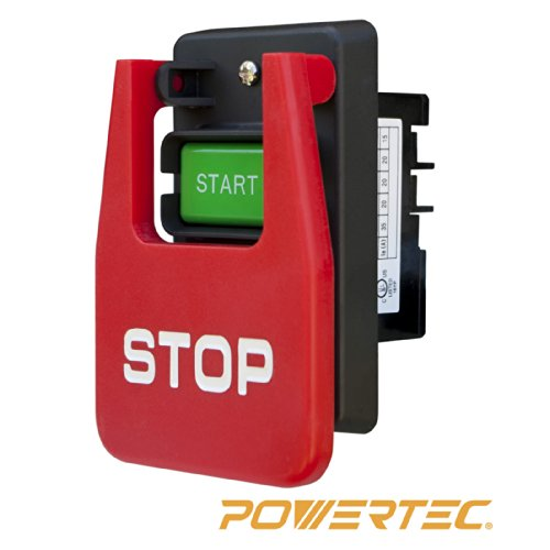 POWERTEC 71007 110/220V Paddle (Large Switch)