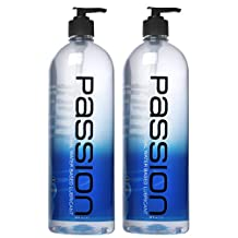Twin Pack Natural Water-Based Lubricant, 34 oz each, total 68oz