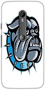 Snoogg Bulldog Perro Principal De La Mascota Diseñador Funda Protectora De La...