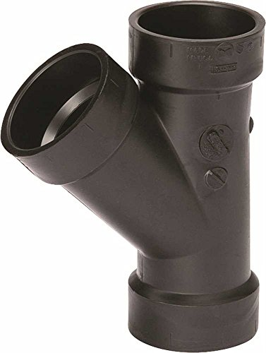 NIBCO 5810 Series ABS DWV Pipe Fitting, Wye, 3