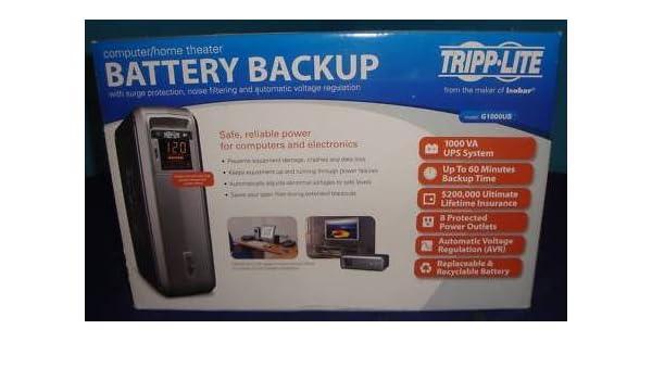 Tripp-Lite G1000UB Battery Backup UPS
