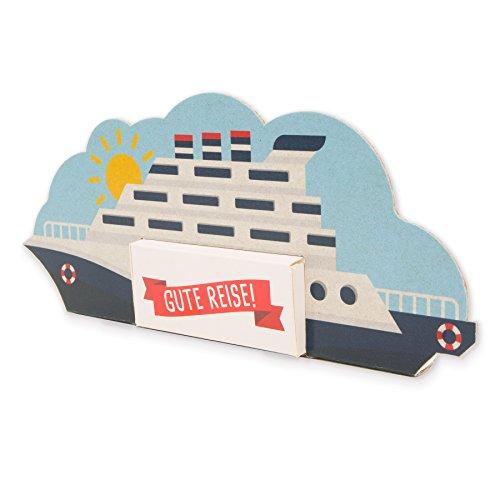 Itenga Kreuzfahrtschiff Geldgeschenk Verpackung Aus Karton Für