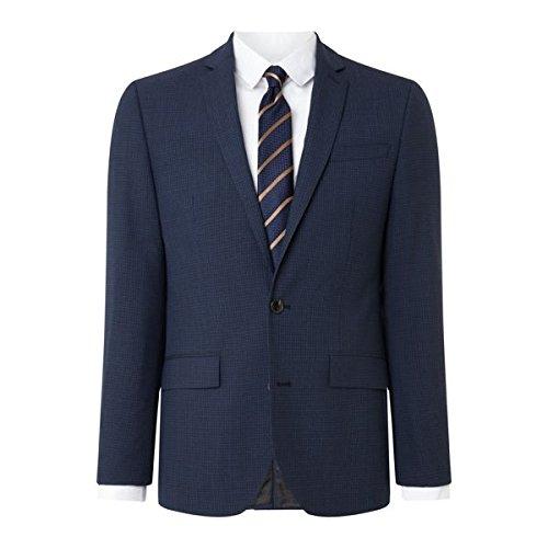 [ケネスコール] メンズ ジャケット&ブルゾン Waldorf Slim Fit Micro Grid Check Suit J [並行輸入品] B07F351FK8 44l