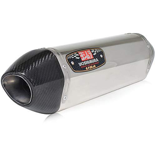 Suzuki Gsxr1000 Carbon Yoshimura Race - 12-16 SUZUKI GSXR1000: Yoshimura R-77 Full System Exhaust (Race/Stainless Steel/Stainless Steel/Carbon Fiber)