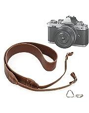 Vintage Camera Strap for Nikon z fc Digital Cameras Neck Strap Long Shoulder Strap for Canon Sony Fujifilm Olympus Mirrorless DSLR etc.