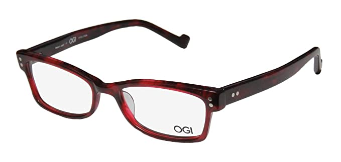 7ba31f52cc9 Amazon.com  Ogi 3064 Mens Womens Designer Full-Rim Shape Simple   Elegant  Ultimate Comfort Eyeglasses Eye Glasses (52-17-140