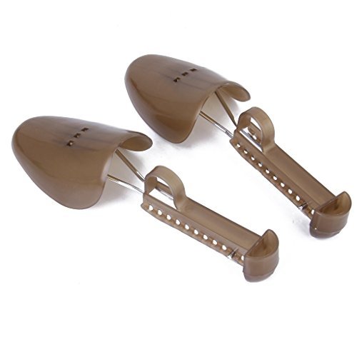 SODIAL(R) 1 Pair of Adjustable Plastic Shoe Trees for Men UK Size - Tiffany Uk Stores