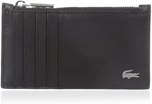 Lacoste Men's FG Zipped Credit Card Holder