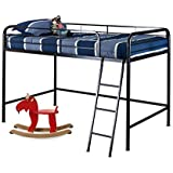 Zinus Easy Assembly Quick Lock Twin Loft Metal Bed Frame
