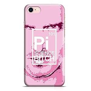 Loud Universe iPhone 7 Case Breaking Bad Case Pink Man Sci Bi Tv Show Transparent Edge Durable Wrap Around iPhone 7 Cover