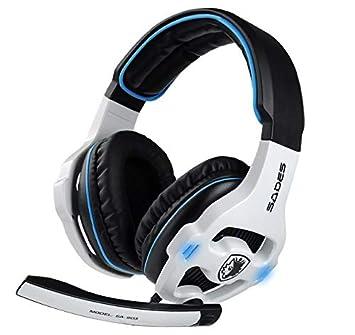Cancelación de Ruido estéreo USB Gaming Auriculares ...