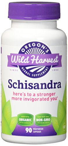 Schizandra Fruit (Oregon's Wild Harvest Schisandra Organic Herbal Supplement, 90 Count)