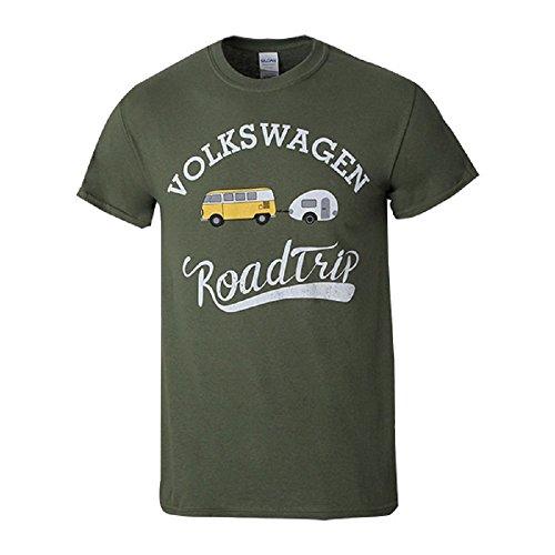 Eurovan Camper (VW Volkswagen Genuine Roadtrip T-Shirt EuroVan Camper (2X))
