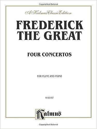 Four Concertos for Flute and Piano (Kalmus Edition)