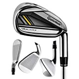 TaylorMade New Golf RocketBladez 2.0 4-PW Irons RocketFuel 85 Steel Stiff