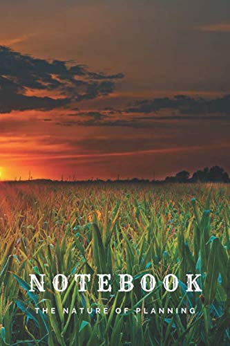 Notebook: Nature: Corn Field - A5, Journal, Pads, Diary, Notepad, Sketchbook (Blank) (Planet Earth Project)