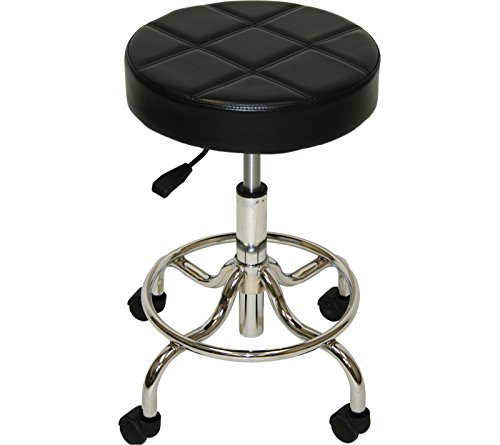 LCL Beauty Extra Large Deluxe Technician Dentist Doctor Medical Massage Tattoo Stool Spa Salon Beauty Equipment by LCL Beauty