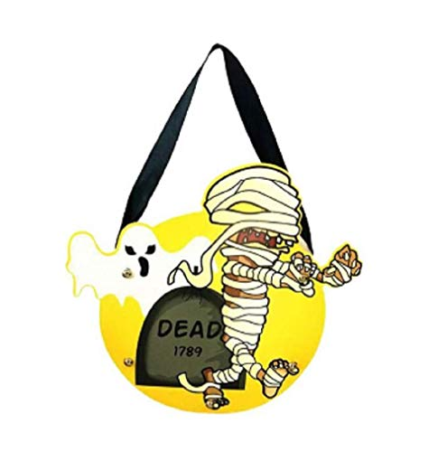 Azaina_Chris New Halloween Cute DIY Paper Candy Bag Package Children Party Storage Bag of Sugar #PYW0 (#C)