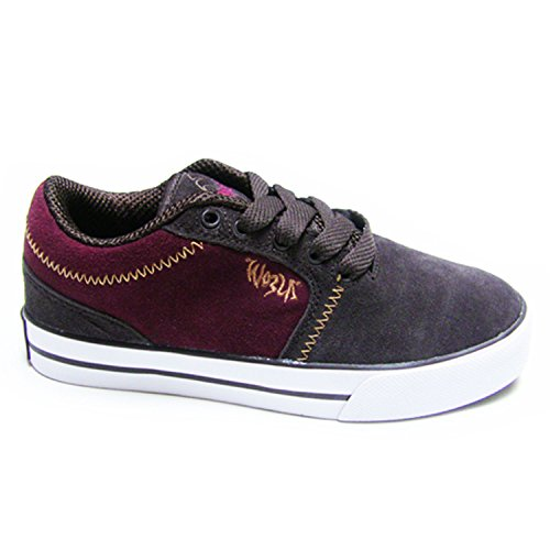 WORLD INDUSTRIES Reason Boys SHOES Brown/Maroon