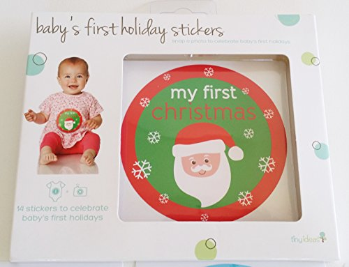 - Baby's first holiday stickers - 14 stickers to celebrate baby's first holidays