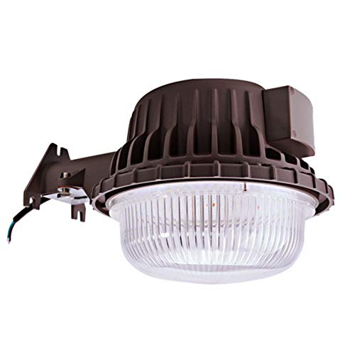 LED Area Light 80 Watts Dusk to Dawn Photocell Included, Perfect Yard Light or Barn Light, 9500 Lumens, 5000K, UL Listed,DLC, 700W Incandescent or 200W HID Light Equivalent, 5-Year Warranty