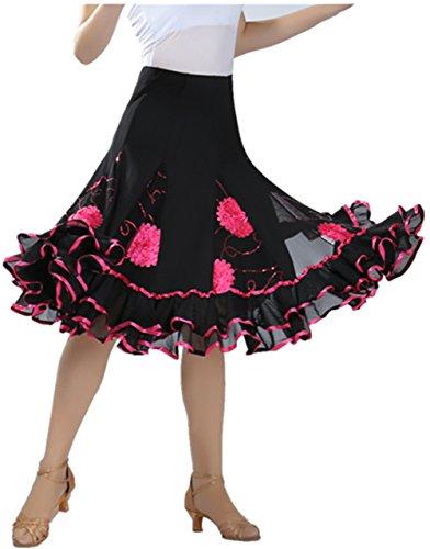 FaithYoo - Falda - para mujer Rosa