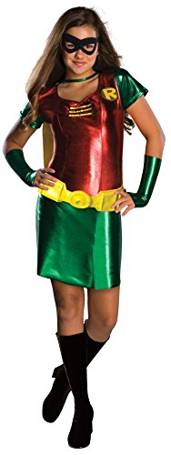 Infant Batman And Robin Costumes (Teen Titans Robin Tween Costume, Small (0-2))