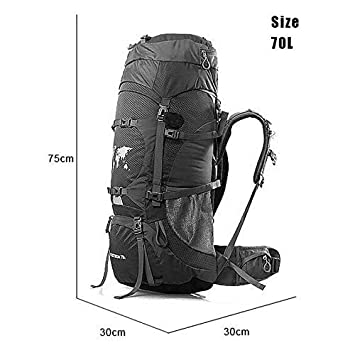 cf6e613155b6 Amazon.com: ZHJWHWABBAO Mountaineering Bag Hiking Backpack ...