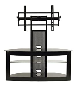 Amazon Com Transdeco Lcd Tv Stand With Universal Mounting