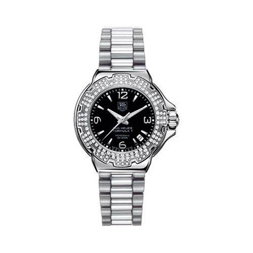 TAG Heuer WAC1214.BA0852 Formula 1 - Reloj de mujer con diamantes: Amazon.es: Relojes