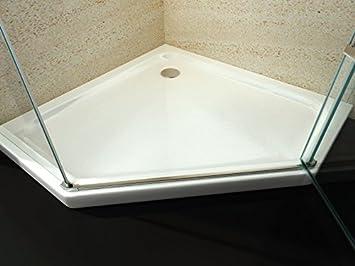 receveur de douche d'angle 90x90