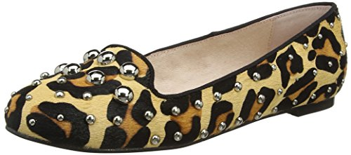 Office Women's Floodlight Ballet Flats Multicolour (Leopard Leather) KkV6jE1
