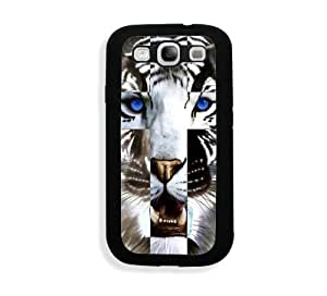Galaxy S3 Case - Galaxy S III Case -   ThinShell TPU Case Protective Shawnex White Bengal Tiger Roar Hipster Quote