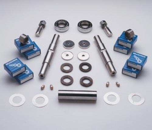 SSBC A24136 Stainless Steel Kingpin Kit