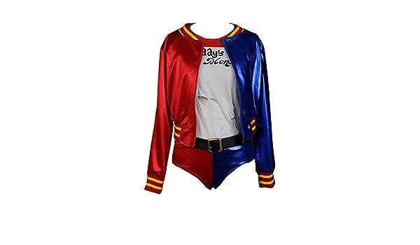 Daiendi - Chaqueta para disfraz de Harley Quinn (talla mediana)  Amazon.es   Juguetes y juegos fdc700aad7a6