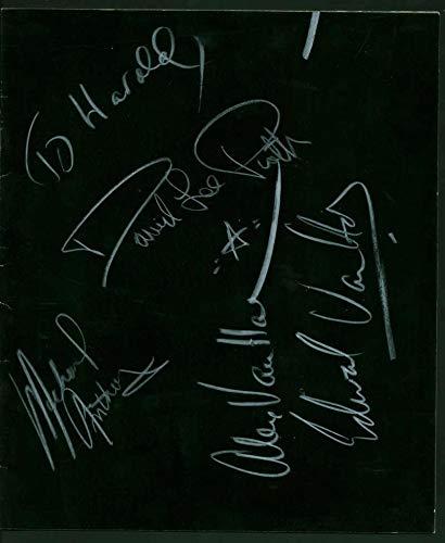 (Van Halen Signed Autographed 1979 Vintage Tour Program Beckett BAS - Beckett)