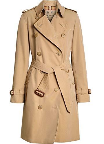 - BURBERRY Women's 4073373 Beige Cotton Trench Coat