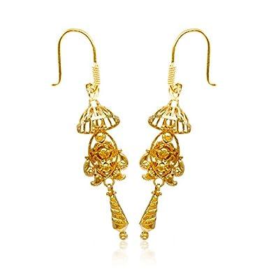 82a0296ee8aea Senco Gold 22k (916) Yellow Gold Drop Earrings