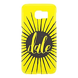 Loud Universe Samsung Galaxy S6 3D Wrap Around Dale Print Cover - Yellow