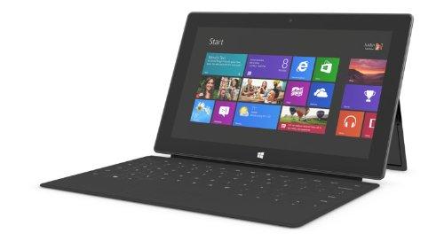 Microsoft Surface 64GB Tablet (Dark Titanium) with Black ...